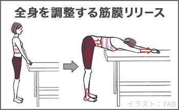 全身を調整する筋膜リリース