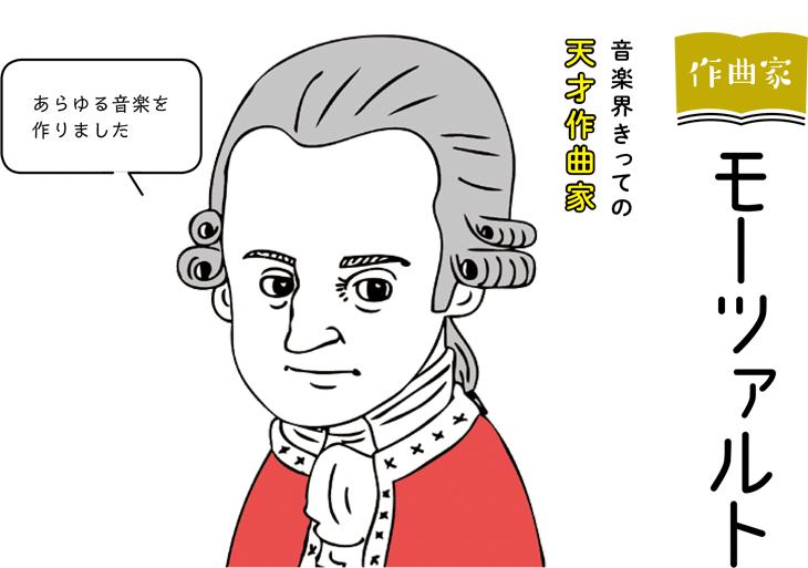 作曲家 モーツァルト 音楽界きっての天才作曲家